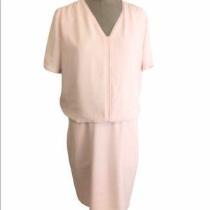 SCOTCH & SODA Pale Pink Peplum Dress NWT 1…